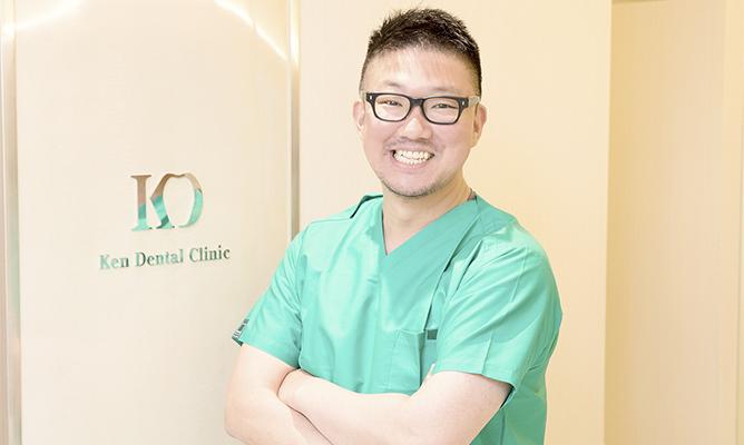 理事・小牧院長代理・口腔外科医山本 浩平